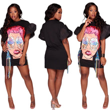"""Ice Cream Eyes"" Fashion Dress - The Faddi Clothing Boutique - Sexy Club Party Clothes"
