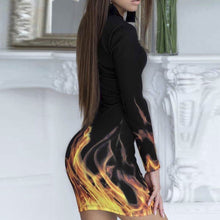 """Flaming Temptation"" Fashion Dress - The Faddi Clothing Boutique - Sexy Club Party Clothes"