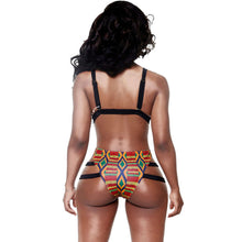 Brazilian Tribal Print High Waist Bikini - The Faddi Clothing Boutique - Sexy Club Party Clothes