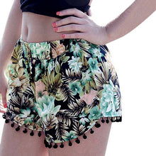 Hot Black Floral Tassel Shorts - The Faddi - Sexy Clothes, Stylish Fashion