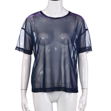 """Midnight Breeze"" Mesh Shirt - The Faddi Clothing Boutique - Sexy Club Party Clothes"