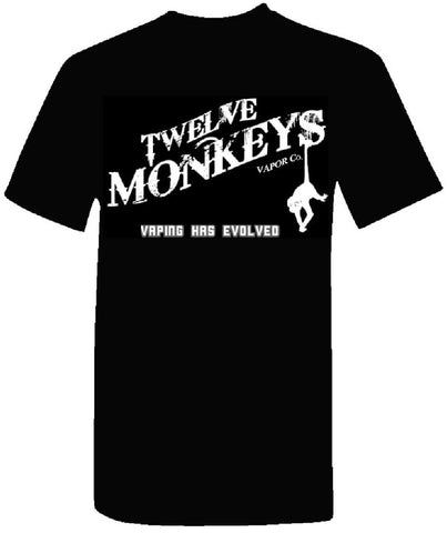 SagaVape.com | FREE 12 MONKEYS T-SHIRT WITH 2 BOTTLES PURCHASE