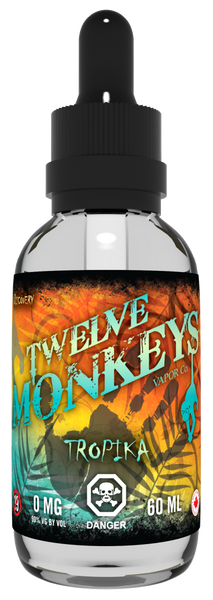 Twelve Monkeys Tropika E-Liquid - 100ML - Sagavape.com