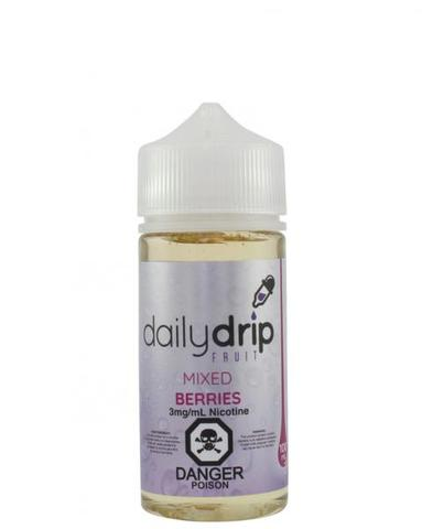Mixed Berries By Daily Drip E-Liquid - 100ml