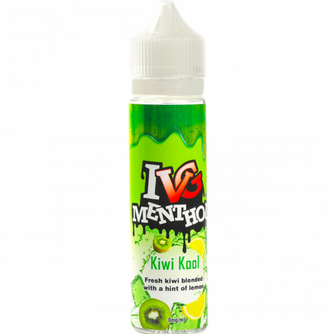 Kiwi Lemon Kool Menthol E-Liquid By IVG - 60ML