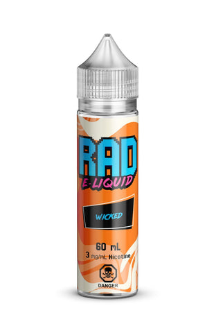 Wicked By Rad E-Liquid - 60ml