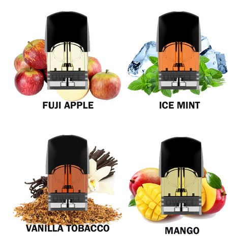 Variety of Flavors POD PACK for Uwell Yearn (4 Packs)