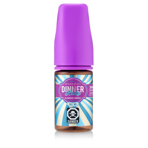 Blackberry Surprise (Blackberry Crumble) by Dinner Lady Salt Nic E-Liquid 30mL