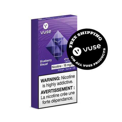 Blueberry By VUSE (VYPE) ePod Pods (2/Pack)