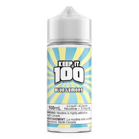 Blue Slushie Lemonade By Keep It 100 E-Liquid - 100ML