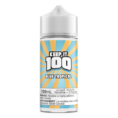 Blue Slushie Tropical By Keep It 100 E-Liquid - 100ML