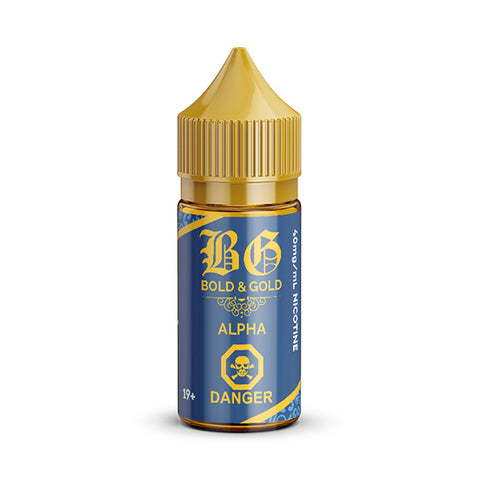 Alpha By Bold And Gold Nic Salt E-Liquid - 30ml