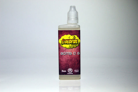 Bomb O.G By Cloudfire E-Liquid - 60ml