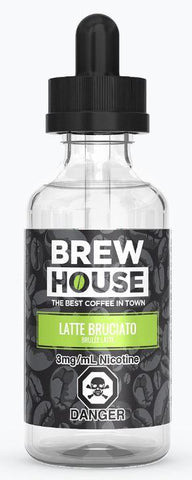 Brew House Latte Bruciato (Brulée Latte) E-Liquid - 60ml