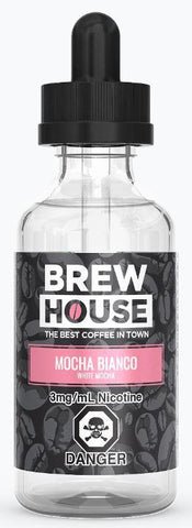 Brew House Mocha Bianco (White Mocha) E-Liquid - 60ml