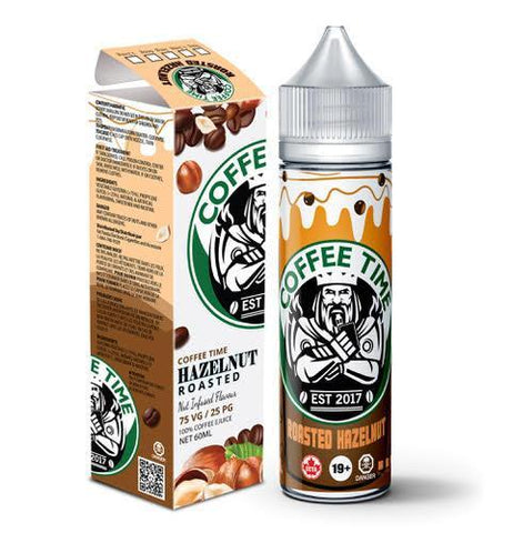Roasted Hazelnut By Coffee Time E-Liquid - 60ml