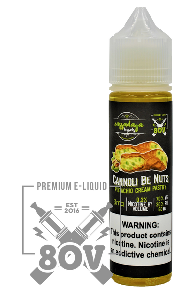 Cannoli Be Nuts E-Liquid by Cassadaga Liquids - 60ML
