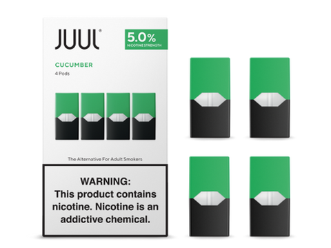 Cucumber By JUUL (4 Pods Pack) (IN STORE ONLY)