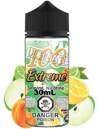 Extreme By Ultimate 100 E-Liquid - 30ML