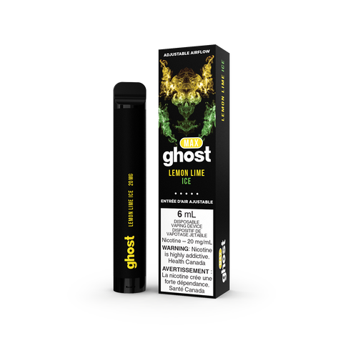 Lemon Lime Ice by GHOST MAX Disposable Vaping Device