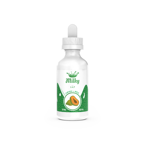 Papaya Milk By Milky E-Liquid - 60ML - Sagavape.com