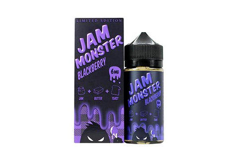 Blackberry By Jam Monster E-Liquid - 100ml - Sagavape.com