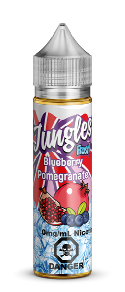 Blueberry Pomegranate Frost By Jungles E-Liquid - 60ml