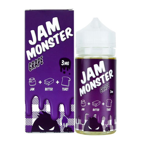 Grape By Jam Monster E-Liquid - 100ML - Sagavape.com