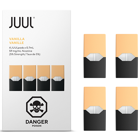 Vanilla By JUUL (4 Pods Pack) (IN STORE ONLY)