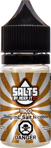 TBCO By Keep It 100 Nic Salt E-Liquid - 30ML