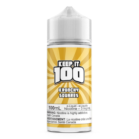 Krunchy Squares By Keep It 100 E-Liquid - 100ML