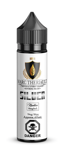 Silver By Marc Theriault E-Liquid - 60ml