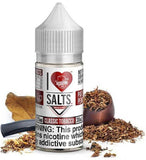 Classic Tobacco By I Love Salts By Mad Hatter Nic Salts E-Liquid - 30ML