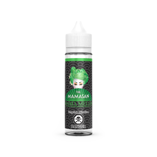 Mama Melon E-Liquid By The MAMASAN - 60ML - Sagavape.com