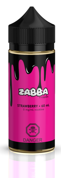 Strawberry By Zabba E-Liquid - 60ml