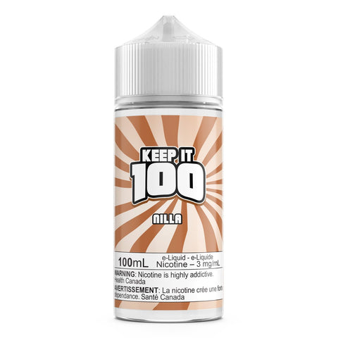 Nilla Almond By Keep It 100 E-Liquid - 100ML
