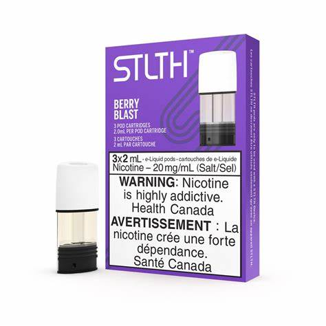 Stlth Pod Pack Berry Blast E-Liquid (3 Pack)