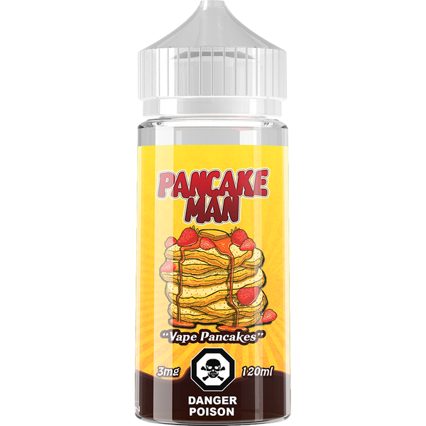 Pancake Man By Vape Breakfast Classics E-Liquid - 120ML