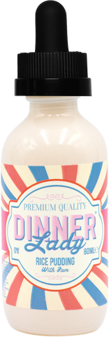 Rice Paradise (Rice Pudding) by Dinner Lady E-Liquid - 60ml - Sagavape.com