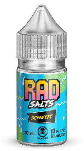 Schweet By Rad Nic Salt E-Liquid - 30mL