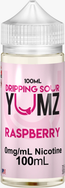 Raspberry by Dripping Sour E-Liquid - 100mL