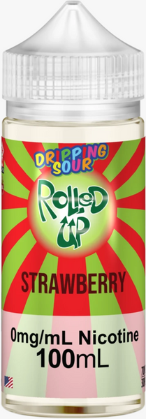 Strawberry by Dripping Sour E-Liquid - 100mL