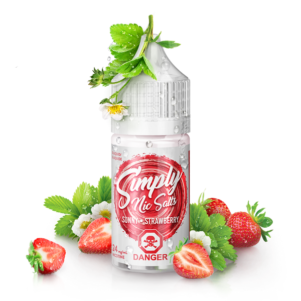 Sunny Strawberry By Simply Nic Salts E-Liquid Nic Salt - 30ML