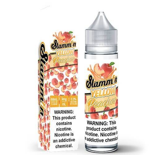 Slamming Peaches By Slamming E-Liquid - 60ML