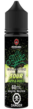 Sour Apple Dust By Propaganda - The Hype Collection E-Liquid - 60mL