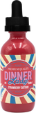Strawberry Temptations (Strawberry Custard) by Dinner Lady E-Liquid - 60ml - Sagavape.com
