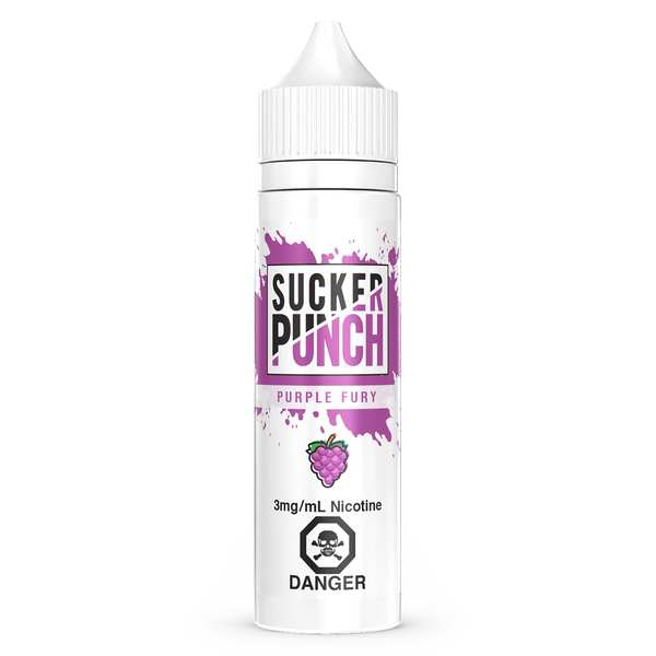 Purple Fury By Sucker Punch E-Liquid 60mL