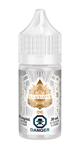 Taste Of The Gods OG By Illusions Nic Salt E-Liquid - 30mL