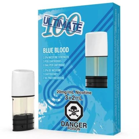 Ultimate 100 – Blue Blood by STLTH (3 Pods Pack)