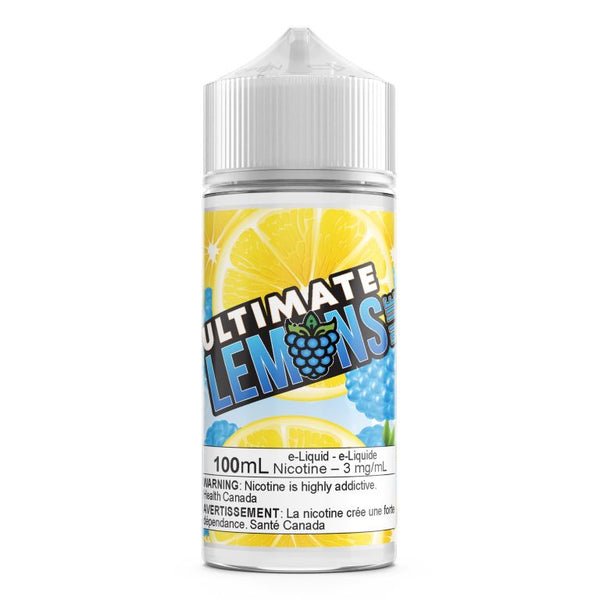 Blue Raspberry By Ultimate Lemons E-Liquid - 100ML